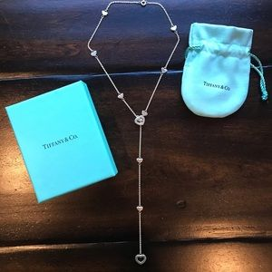 Tiffany & Co. Heart Lariat Necklace